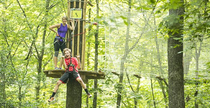 Regional – Go Ape at Oak Point Park in Plano