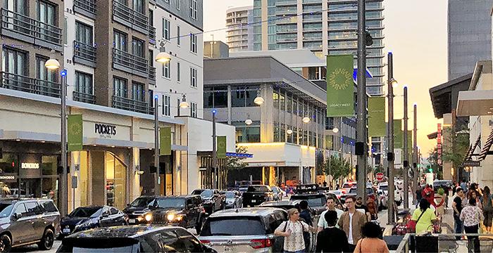 Regional – Legacy West Shopping in Plano
